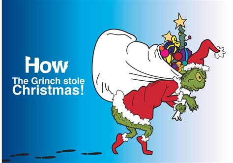how the grinch stole christmas vector download free