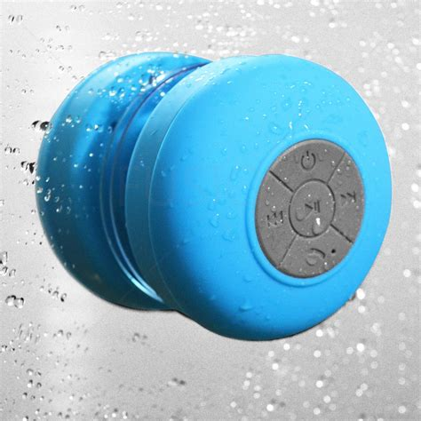Waterproof Bluetooth Shower Speaker waterproof wireless bluetooth speakers mic bathroom shower speaker ebay