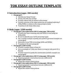 sample tok essay outline template 11 download free documents in pdf tok essay 2014 grade a level 7 student oxbridge notes