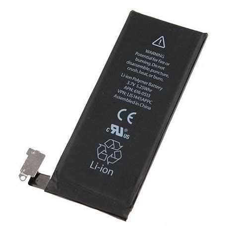li ion polymer battery for apple iphone 4 ausbatteries