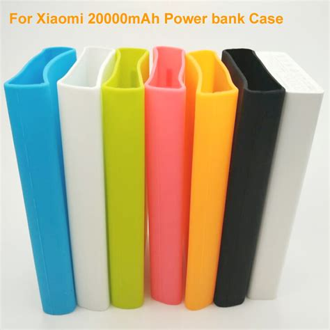 Silicone Cover For Xiaomi Power Bank 20000mah Green silicone cover for xiaomi power bank 20000mah blue jakartanotebook