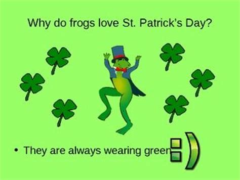 st s day riddles and jokes powerpoint o