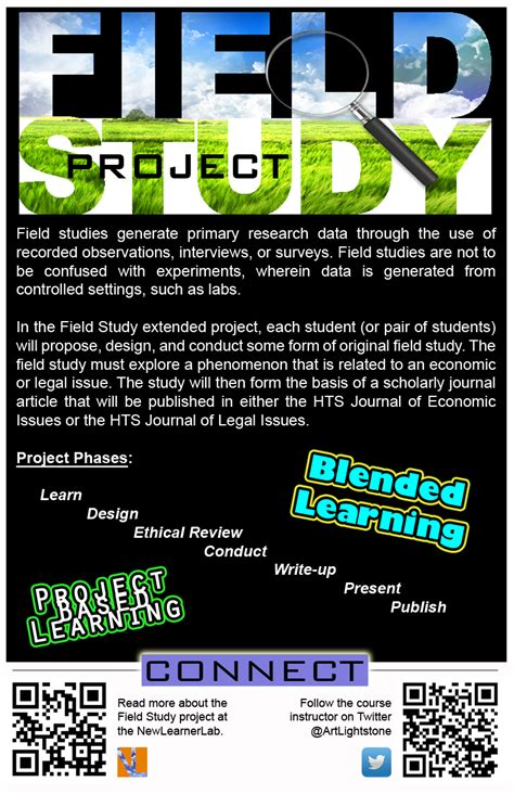 field study extended project  project design