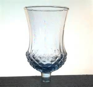 Home Interiors Votive Cups by Home Interiors Votive Cup Glass Blue Pressed Diamond