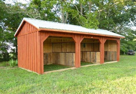 Run In Shed by Run Ins And Sheds Portable Barn Manufacturer