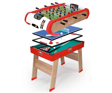 4 in 1 table powerplay 4 in 1 babyfoot babyfoot products