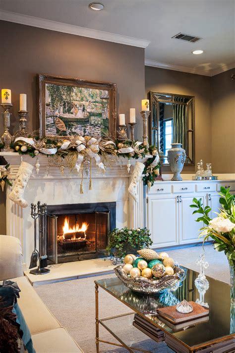Christmas decor christmas decorations garland glass fireplace screen