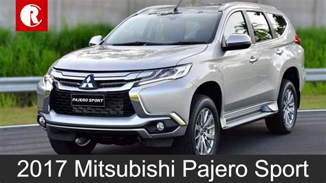 mitsubishi pajero sport 2017 mitsubishi pajero sport india bound in mid 2017