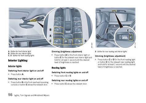 service manual car repair manuals online free 2010 porsche panamera seat position control