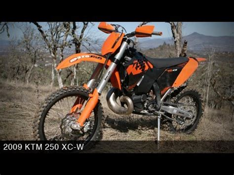 2009 Ktm 250 Xc W Ktm 250 Xc W 2009 Road Dirt Bike Review