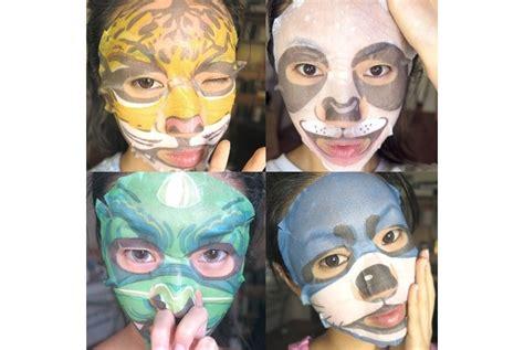 Masker Hewan 5 produk masker wajah unik yang membuat selfie kamu