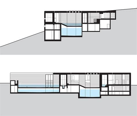 therme vals floor plan thermevalszumthorsection arquitectura pinterest