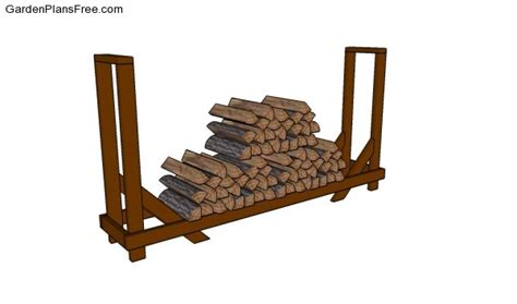 build firewood cutting rack firewood rack plans free garden plans how to build