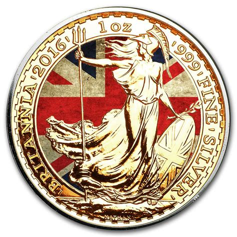 colored coins buy silver britannia coin colored and gold gilded buy