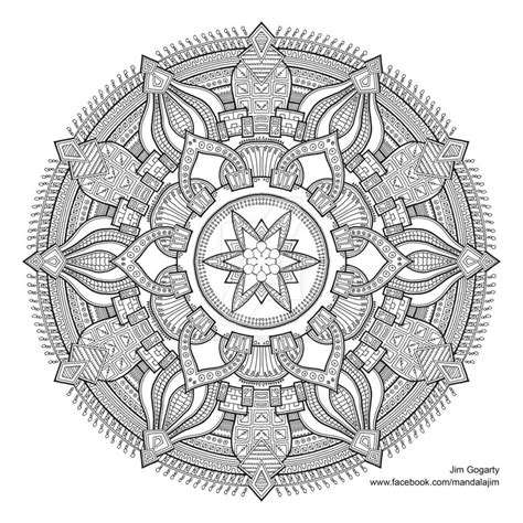 mandala coloring book buy preview of advanced mandala a3 coloring book 2 by mandala