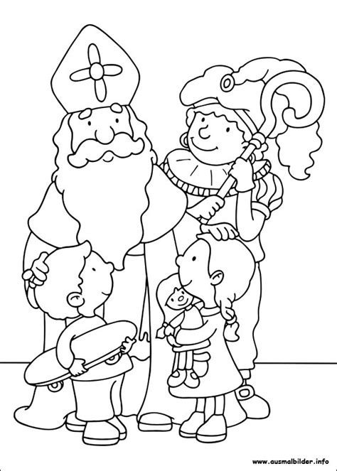 free coloring pages of st nicholas