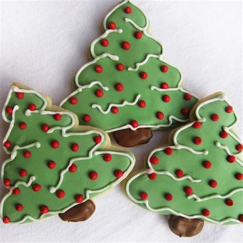 christmas tree cookies food pinterest