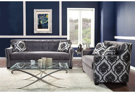 silver living room furniture tionette silver living room sofa set