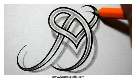 letter d tattoo designs alphabet d designs 5
