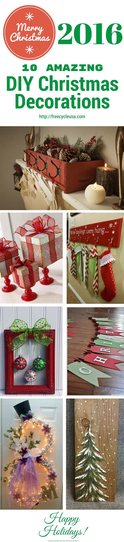 diy home christmas decorations 10 amazing diy home christmas decorations freecycle
