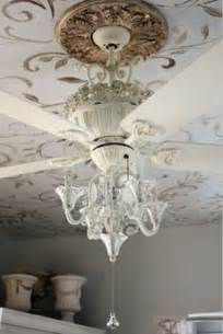Chandelier For Ceiling Fan Love This Chandelier Ceiling Fan Ceiling Fan Pinterest