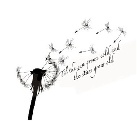 bird themes in macbeth the 25 best dandelion tattoo quote ideas on pinterest