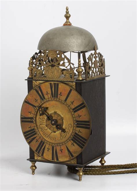 french iron  brass lantern clock  couchon  paris