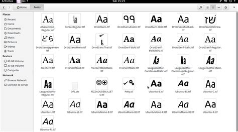 design font inkscape technology education and tutorials cara install font baru