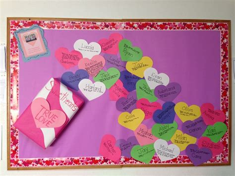 valentines boards valentines day bulletin board kindergarten