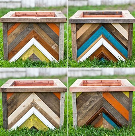 diy planter box top 30 planters diy and recycled