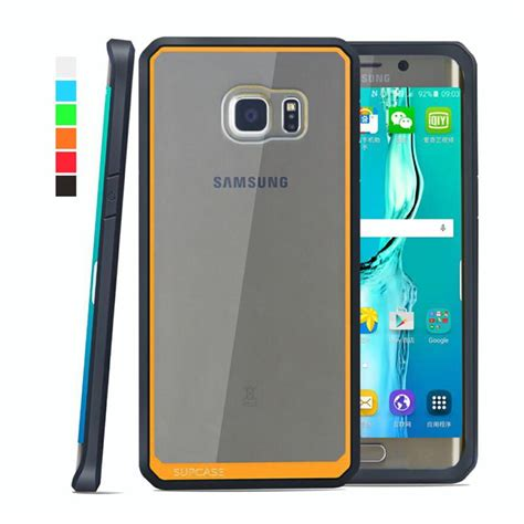 Samsung Note 5 Soft Back Cover Casing Bumper Hp Verus Damda Slide for galaxy note 5 s6 edge plus usa supcase hybrid soft bumper pc back cover for