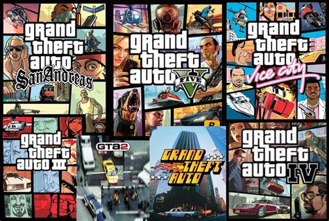 Grand Theif Auto Games by Grand Theft Auto Video Game Series