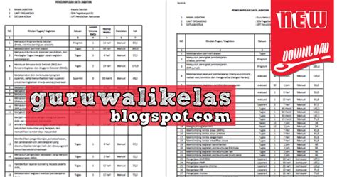 format analisis beban kerja download contoh format dan aplikasi analisis beban kerja