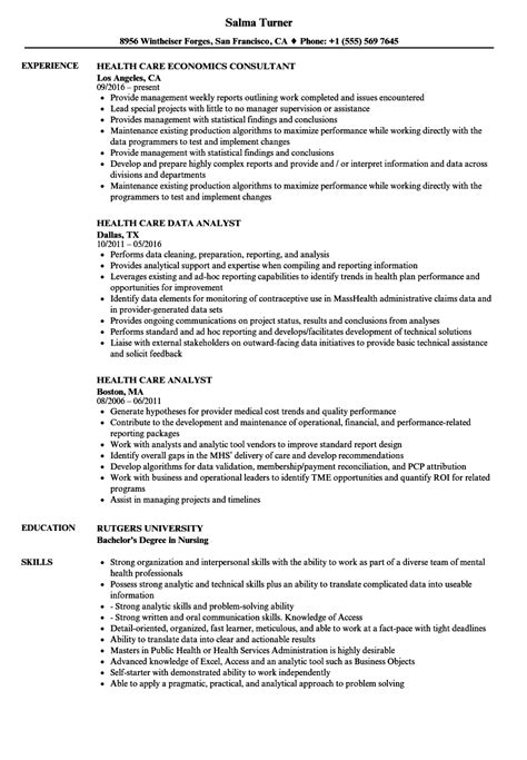Health Care Resume Samples | Velvet Jobs