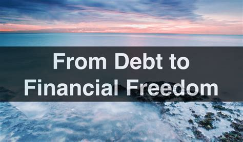 the way to financial freedom how to become financially independent in your 30s books 039 from debt to financial freedom kate northrup