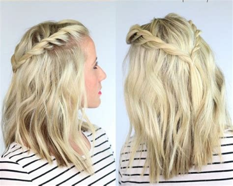 hairstyles braids for medium length hair 15 cool hairstyles to give your mid length hair a new look