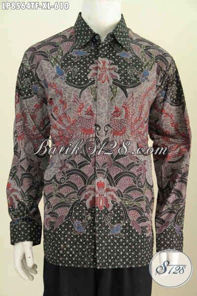 Kemeja Batik Motif Lidah Buaya jual kemeja batik mewah lengan panjang motif bagus daleman