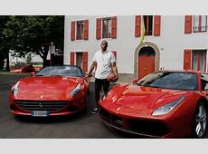Kobe Bryant Tests Out the Track at Ferrari in Maranello Kobe Bryant Cars Collection
