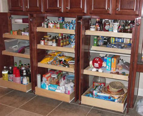 Roll Out Pantry Shelves by Kitchen Pantry Cabinet Pantry Storage Pull Out Shelves