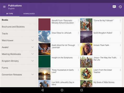 jw library apk bible for mobile phones lama