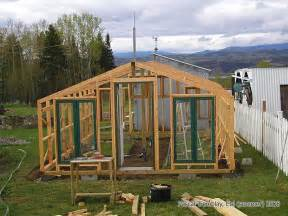 How To Build A Wooden Shed Step By Step by Wooden Greenhouse Plans Polycarbonate