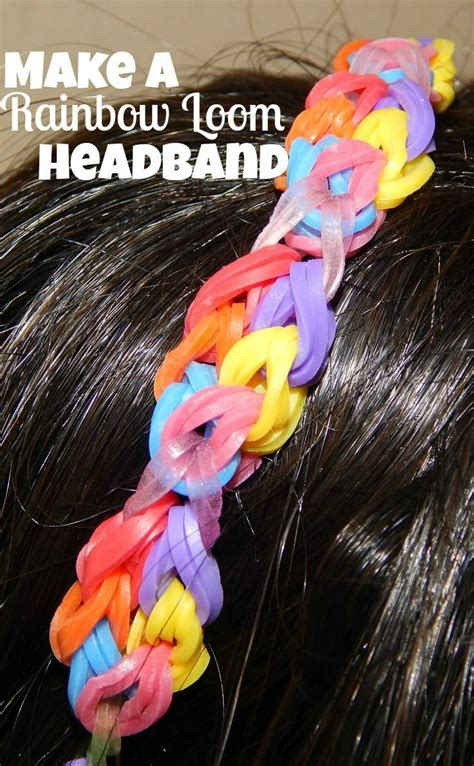 make loom band hair pins 83 best loom bands images on pinterest rainbow loom