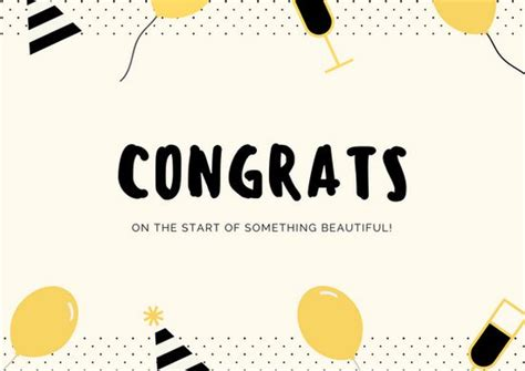 congratulations on the new card template customize 211 congratulations card templates canva