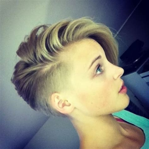 hair cut shorter on sides than back best 25 shaved side hairstyles ideas on pinterest short