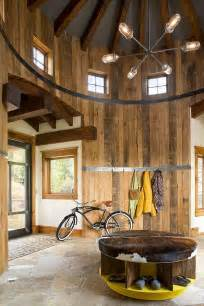 rustic interiors turret home with rustic interiors