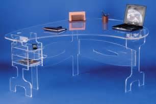 bureau en plexiglas bureau plexiglass