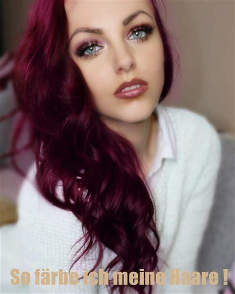 Lila Und Rot by Dunkelbraun Auf Rot Violett So F 228 Rbe Ich Meine Haare