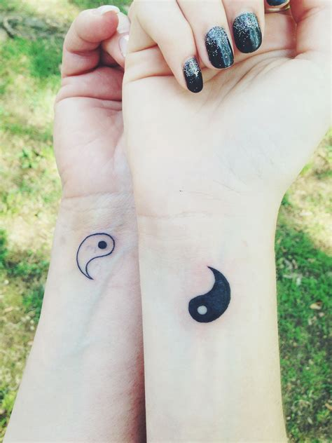 matching yin yang tattoos me and my got matching yin yang tattoos today i