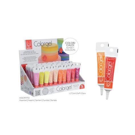 colorante alimentare in gel coloranti gel modecor vari colori