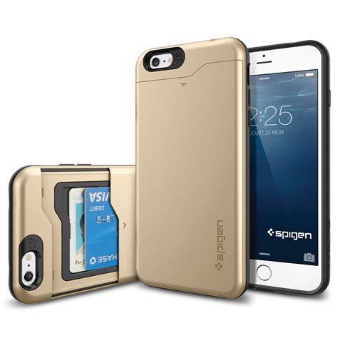 Spigen Slim Armor For Iphone X Chagne Gold Berkualitas spigen slim armor cs for iphone 6 plus 6s plus sgp10913 b h